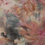 """Wife of Bath series, """"Chaucer's 'Madonna,'"""" 48"""" x 24"""" x ¾"""", Acrylic and reflective pigment on canvas, 2012"""